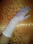 satenove rukavicky ,