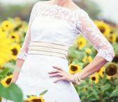 Svadobné šaty veľkosť 36-38, 36