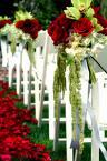 kvety na lavici