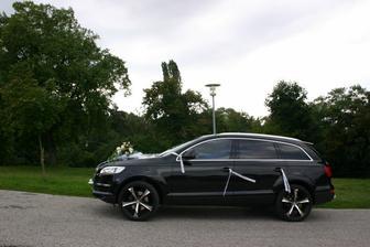 nevestine svadobné auto