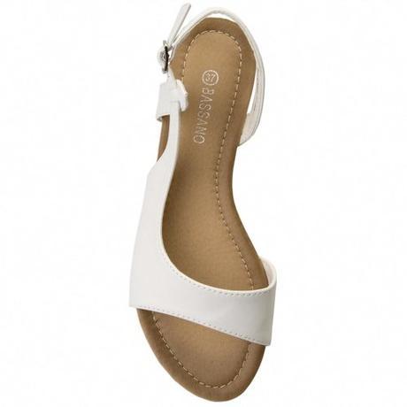 Svadobné sandálky bez opätka - pre  vysoké nevesty - Obrázok č. 1