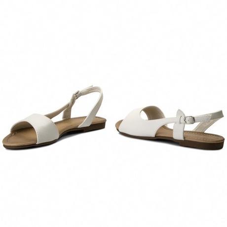 Svadobné sandálky bez opätka - pre  vysoké nevesty - Obrázok č. 3