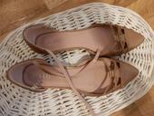 medené sandále, 37