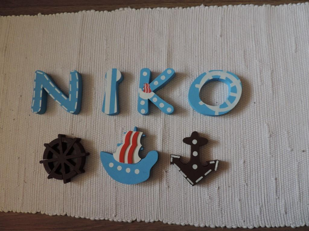 Detské mená a dekorácie v námorníckom štýle - Obrázok č. 1