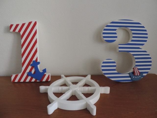 Detské mená a dekorácie v námorníckom štýle - Obrázok č. 11