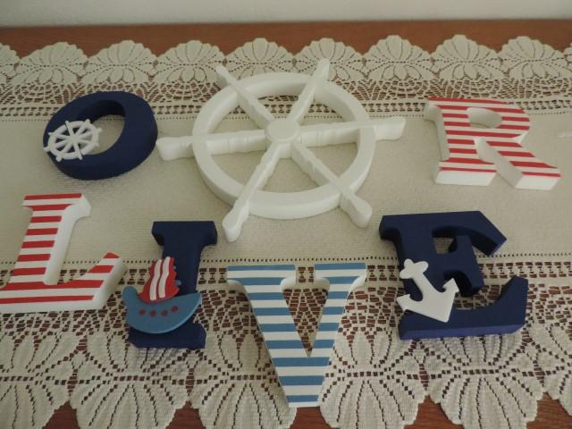 Detské mená a dekorácie v námorníckom štýle - Obrázok č. 17