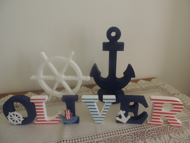 Detské mená a dekorácie v námorníckom štýle - Obrázok č. 23