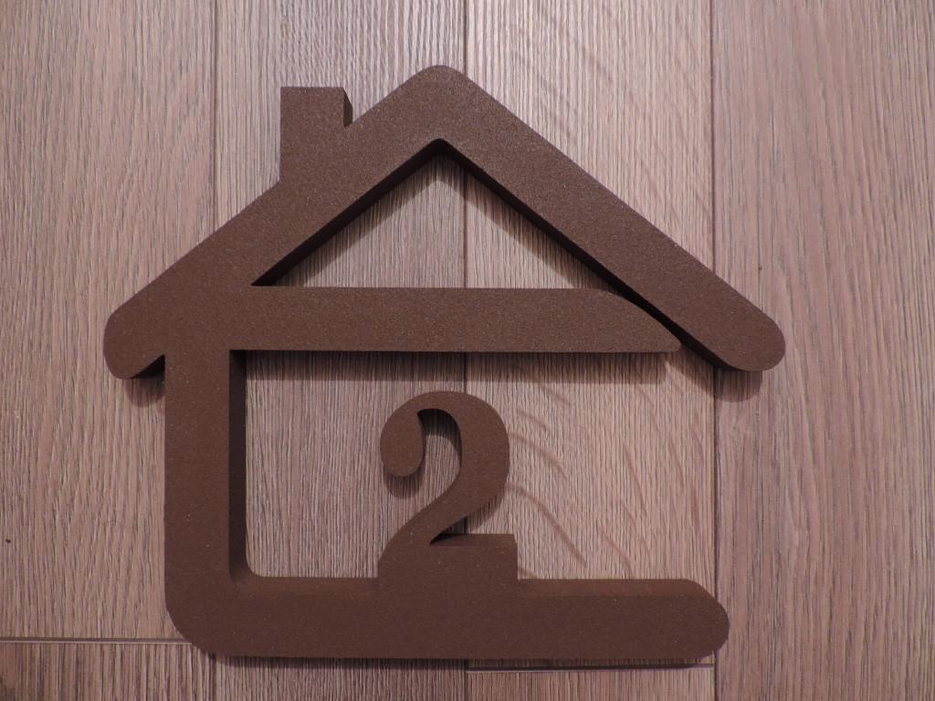 Originálne čísla na dom v domčeku - Obrázok č. 2