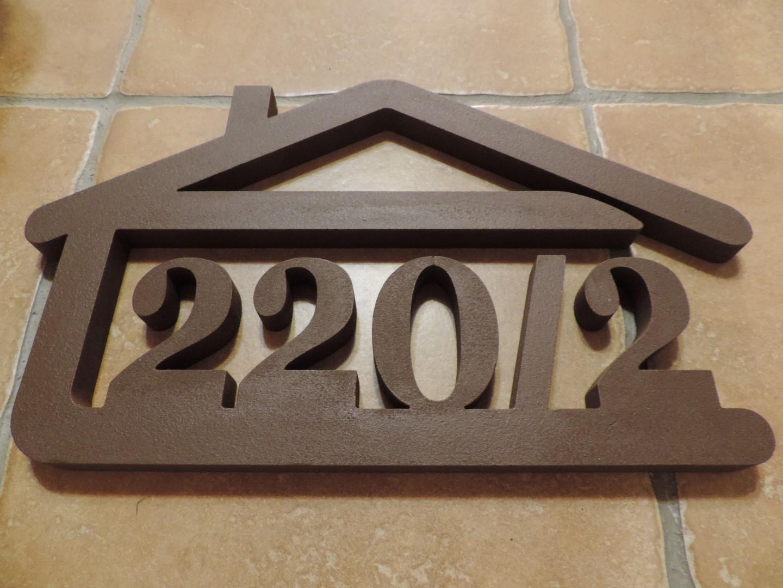 Originálne čísla na dom v domčeku - Obrázok č. 3