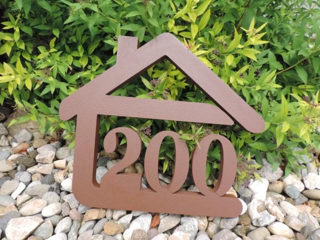 Originálne čísla na dom v domčeku - Obrázok č. 4