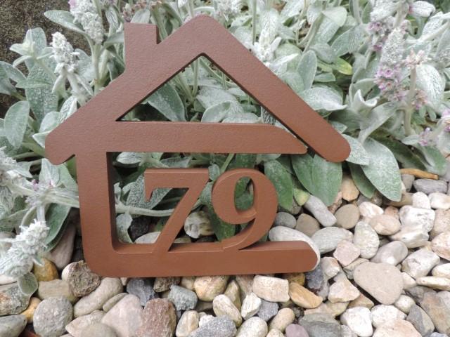 Originálne čísla na dom v domčeku - Obrázok č. 6