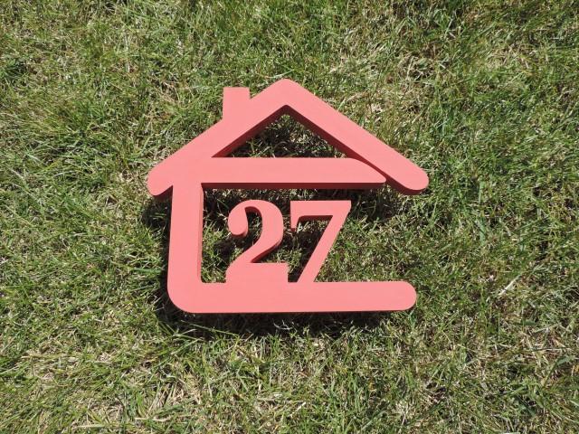 Originálne čísla na dom v domčeku - Obrázok č. 8