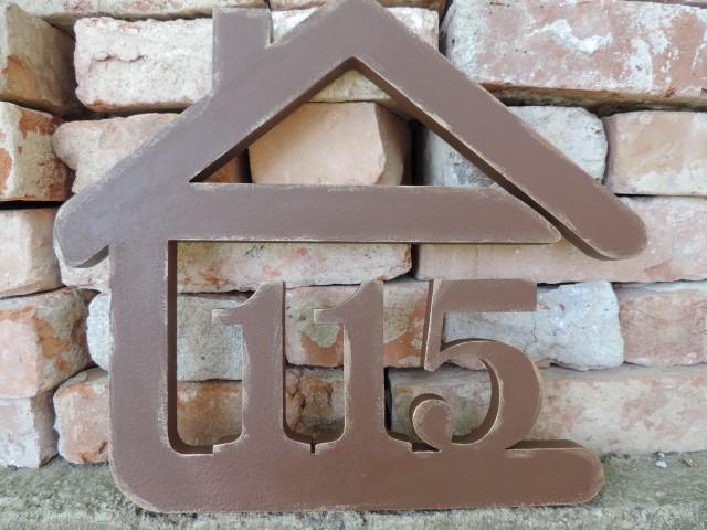 Originálne čísla na dom v domčeku - Obrázok č. 9