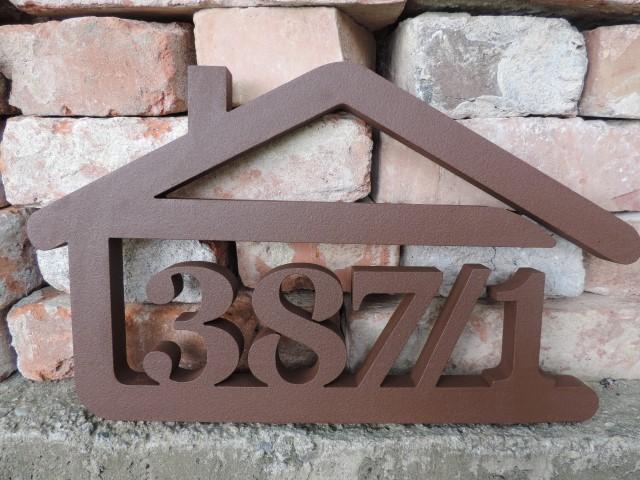 Originálne čísla na dom v domčeku - Obrázok č. 10