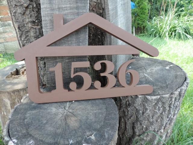Originálne čísla na dom v domčeku - Obrázok č. 11