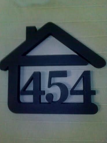 Originálne čísla na dom v domčeku - Obrázok č. 12