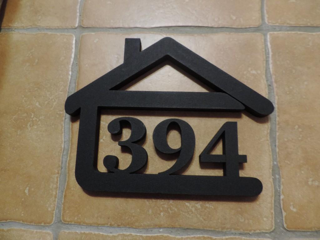 Originálne čísla na dom v domčeku - Obrázok č. 16