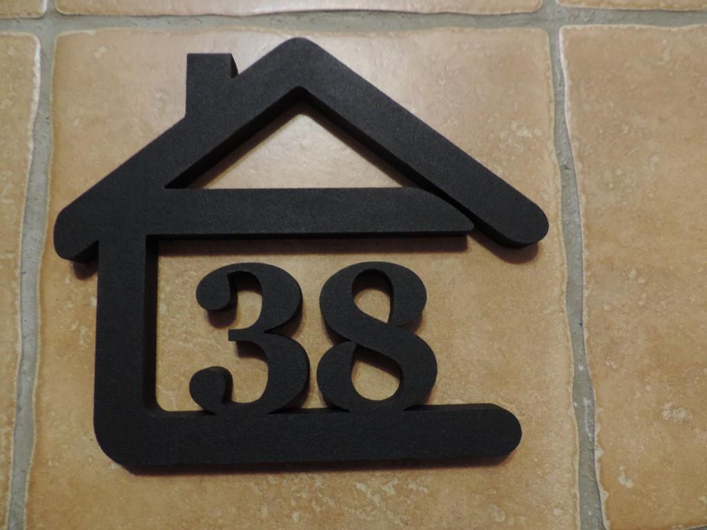 Originálne čísla na dom v domčeku - Obrázok č. 17