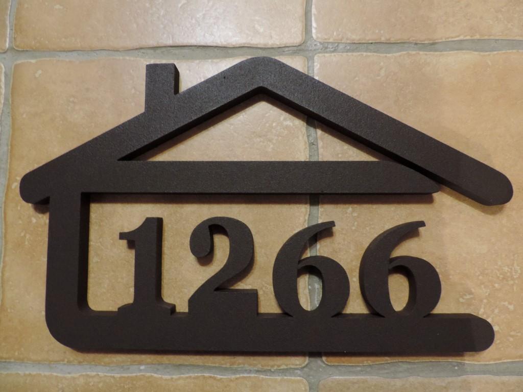 Originálne čísla na dom v domčeku - Obrázok č. 18