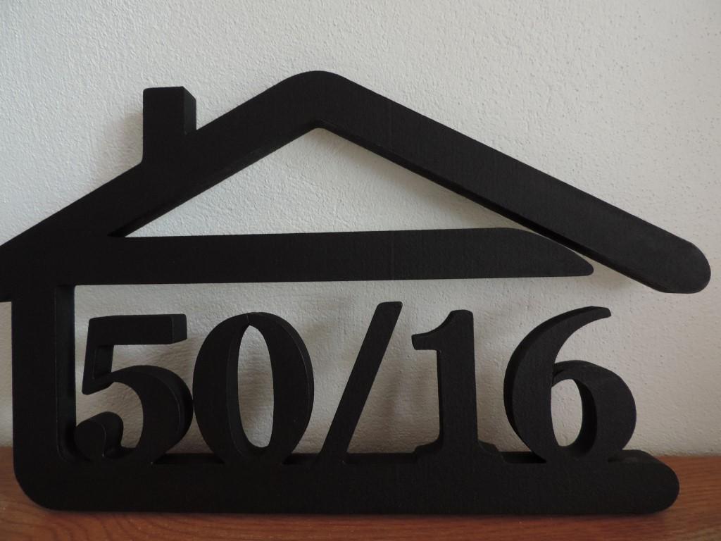 Originálne čísla na dom v domčeku - Obrázok č. 19