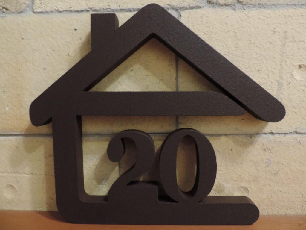 Originálne čísla na dom v domčeku - Obrázok č. 20
