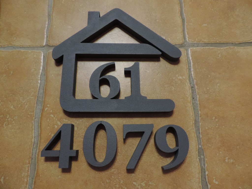 Originálne čísla na dom v domčeku - Obrázok č. 21