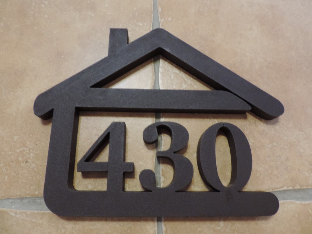 Originálne čísla na dom v domčeku - Obrázok č. 23