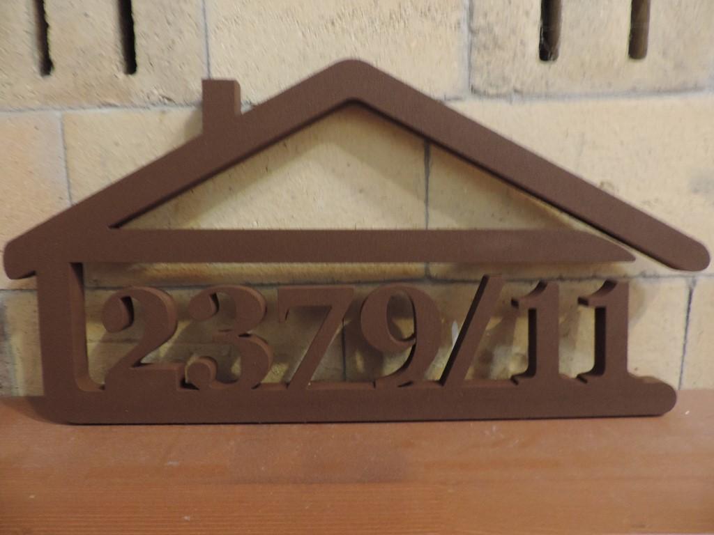 Originálne čísla na dom v domčeku - Obrázok č. 25