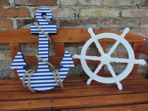 Detské mená a dekorácie v námorníckom štýle - Obrázok č. 79