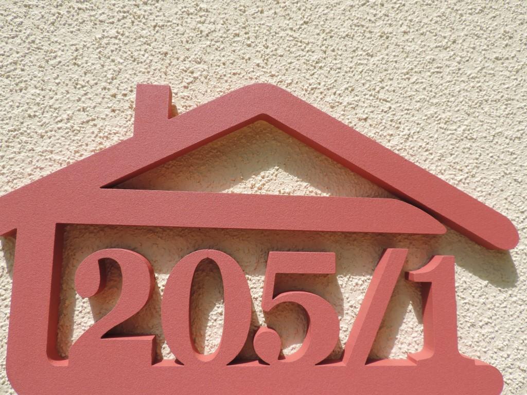 Originálne čísla na dom v domčeku - Obrázok č. 26