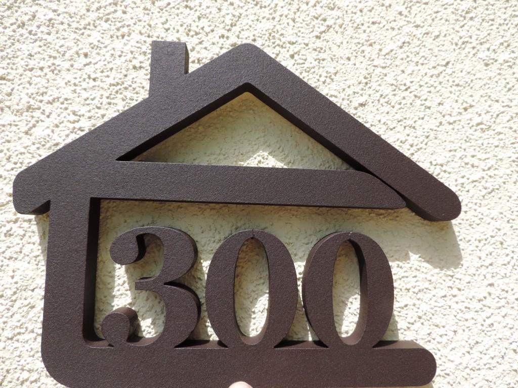 Originálne čísla na dom v domčeku - Obrázok č. 27