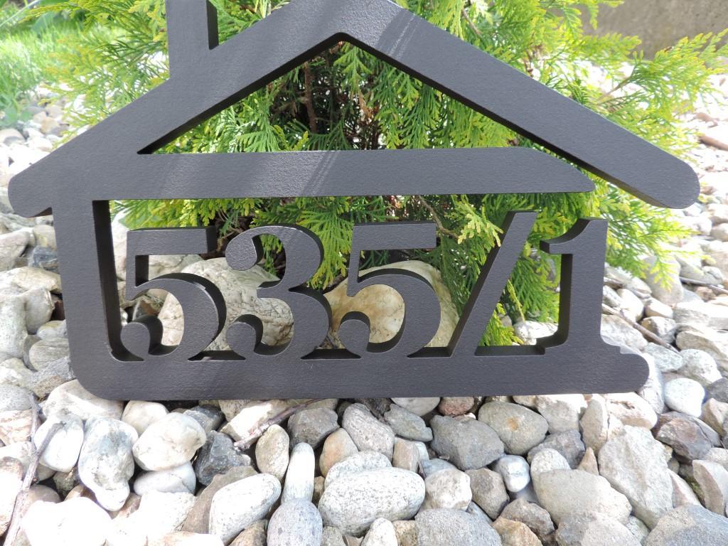 Originálne čísla na dom v domčeku - Obrázok č. 29