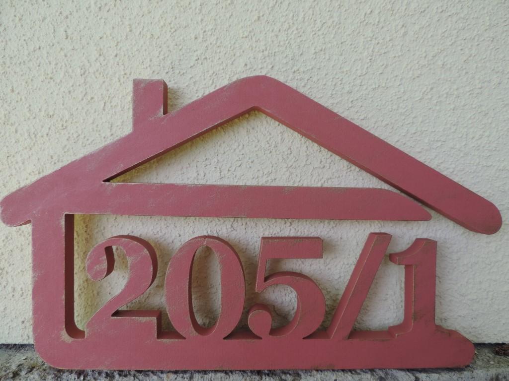 Originálne čísla na dom v domčeku - Obrázok č. 31