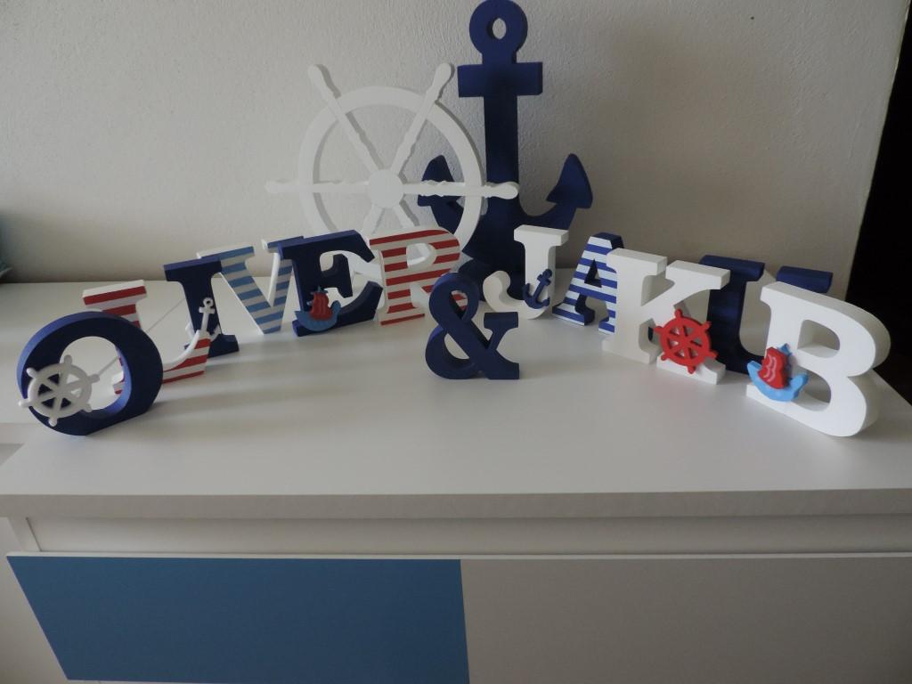 Detské mená a dekorácie v námorníckom štýle - Obrázok č. 86