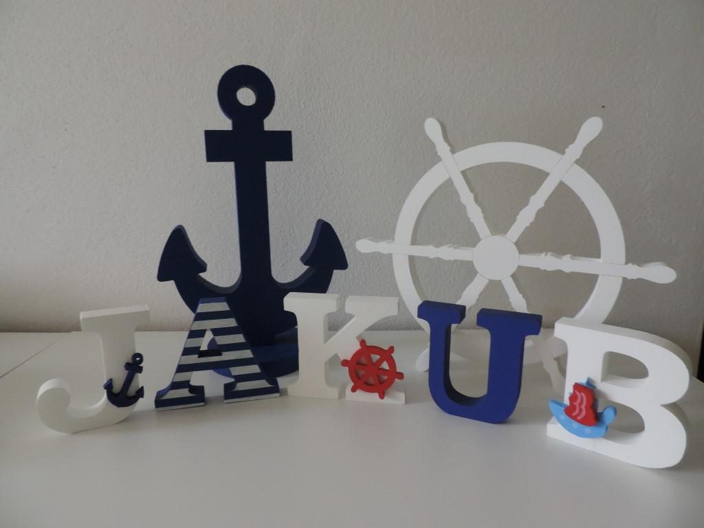 Detské mená a dekorácie v námorníckom štýle - Obrázok č. 87