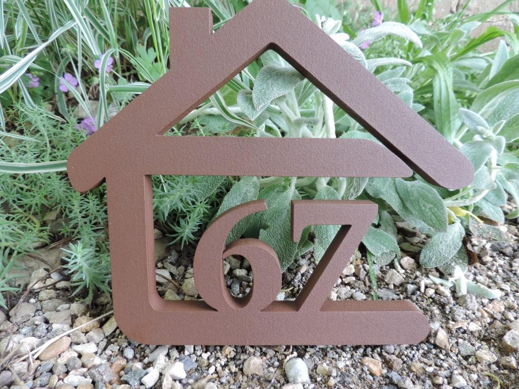 Originálne čísla na dom v domčeku - Obrázok č. 33