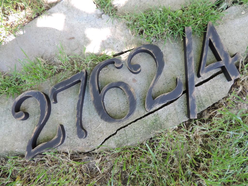 Výroba domových čísiel s patinou - Obrázok č. 28