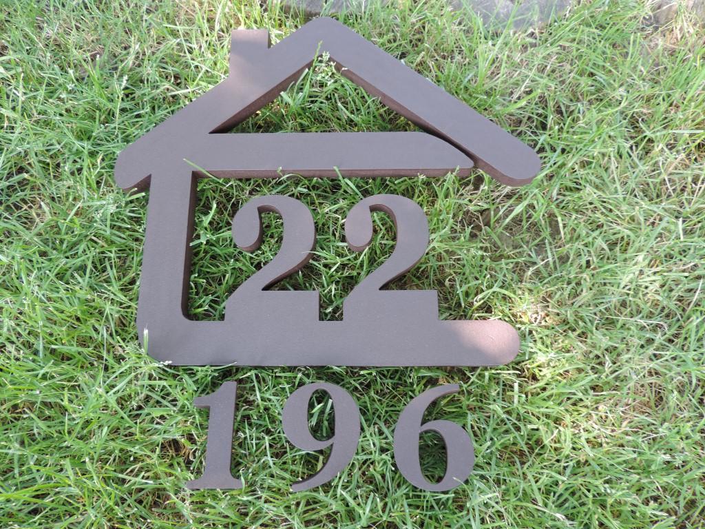 Originálne čísla na dom v domčeku - Obrázok č. 37