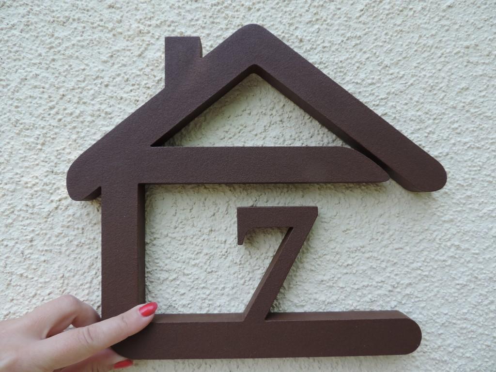 Originálne čísla na dom v domčeku - Obrázok č. 38