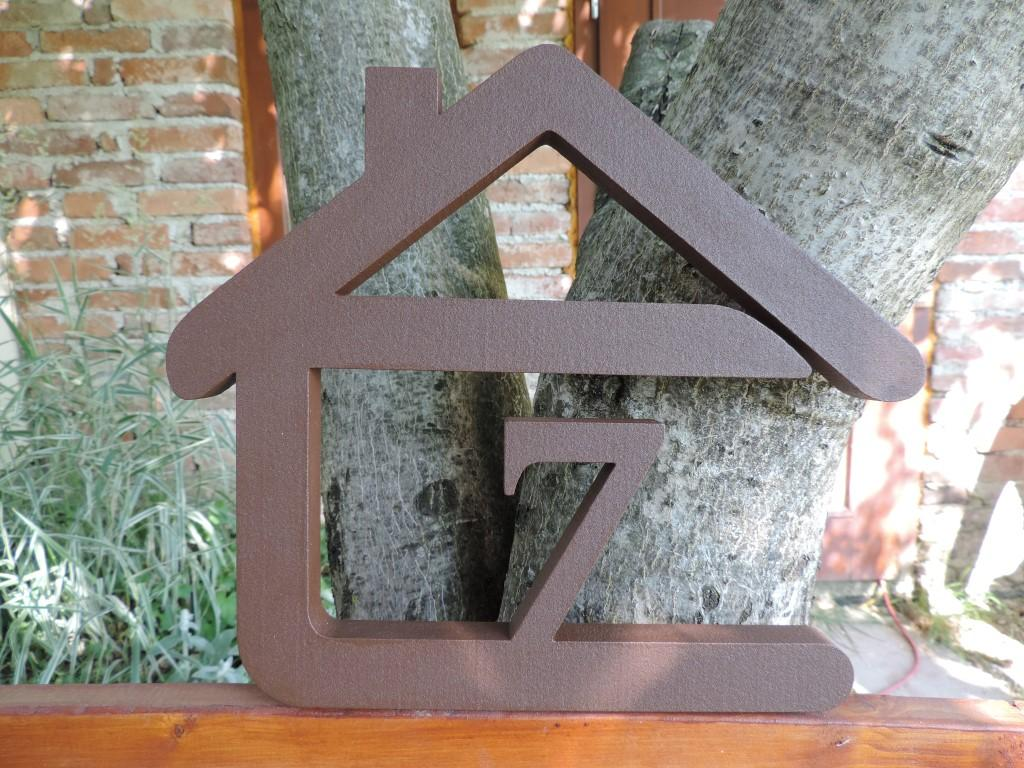 Originálne čísla na dom v domčeku - Obrázok č. 39