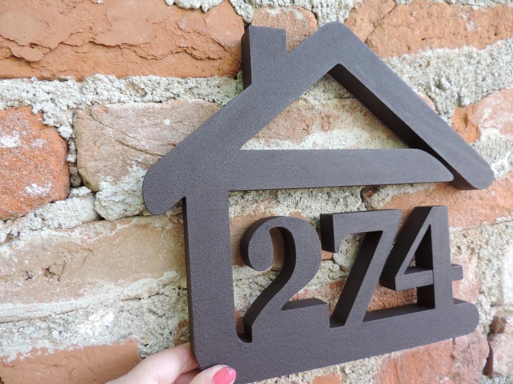 Originálne čísla na dom v domčeku - Obrázok č. 41