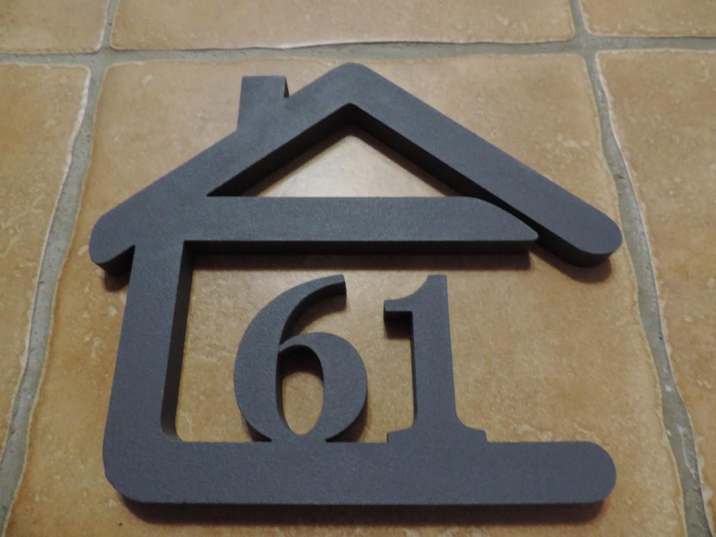 Originálne čísla na dom v domčeku - Obrázok č. 43