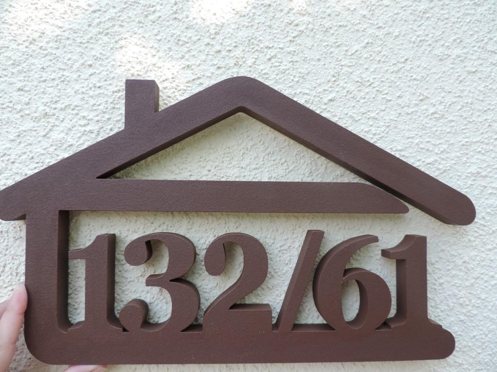 Originálne čísla na dom v domčeku - Obrázok č. 44