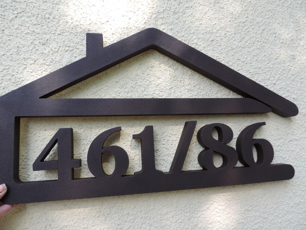 Originálne čísla na dom v domčeku - Obrázok č. 46