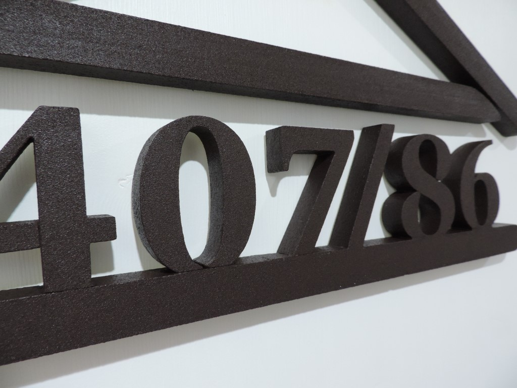 Originálne čísla na dom v domčeku - Obrázok č. 47