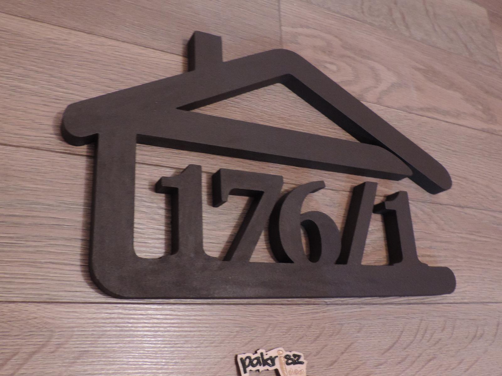 Originálne čísla na dom v domčeku - Obrázok č. 49