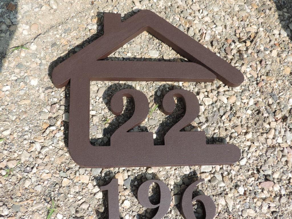 Originálne čísla na dom v domčeku - Obrázok č. 50