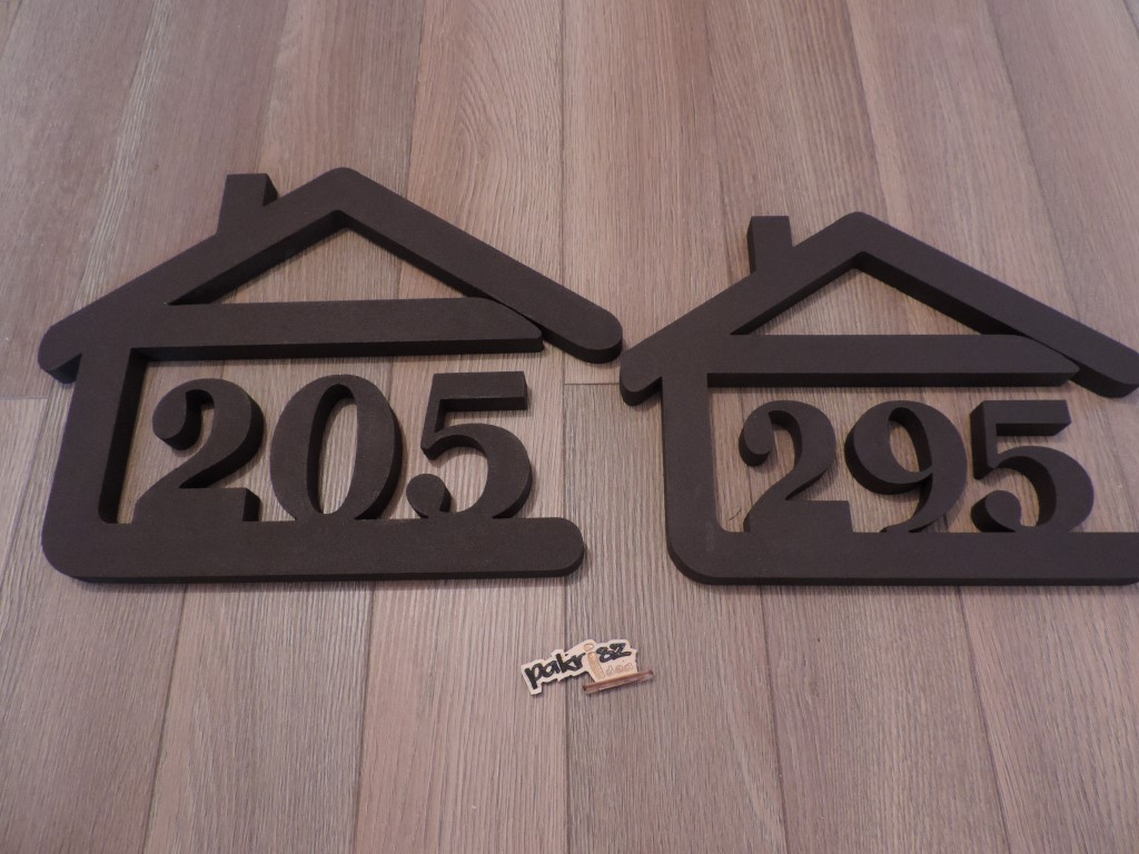 Originálne čísla na dom v domčeku - Obrázok č. 52