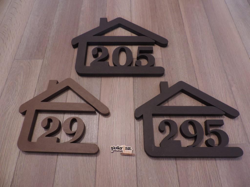 Originálne čísla na dom v domčeku - Obrázok č. 53