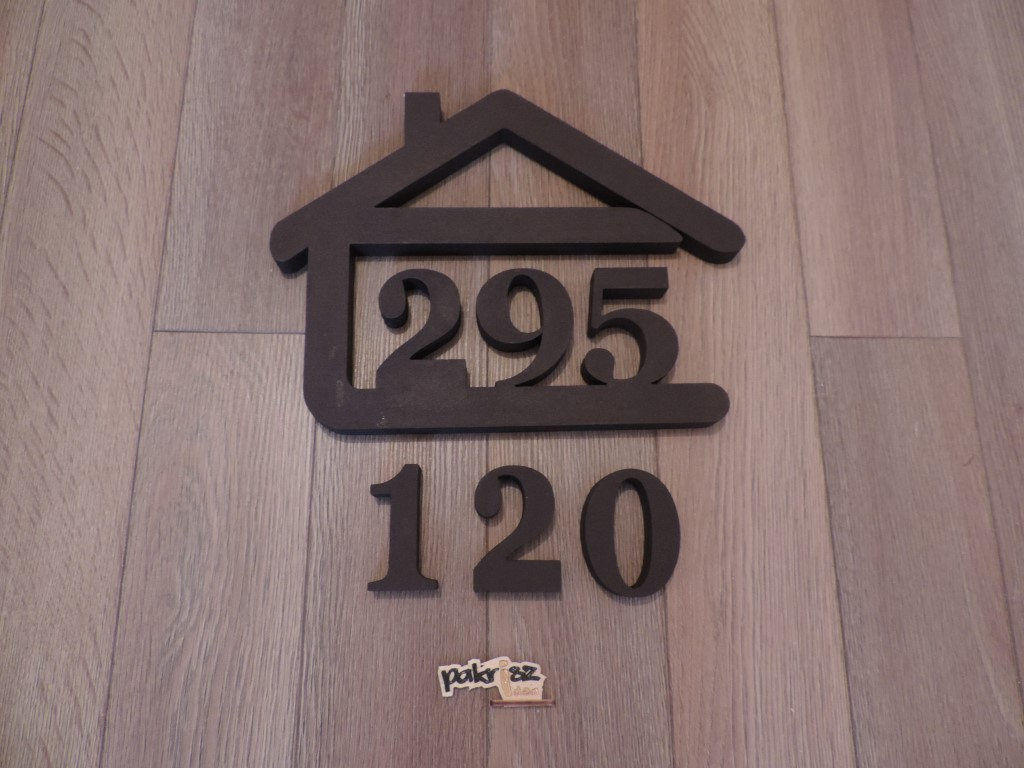 Originálne čísla na dom v domčeku - Obrázok č. 54